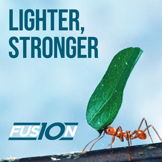 Lighter, stronger - FUSION 10